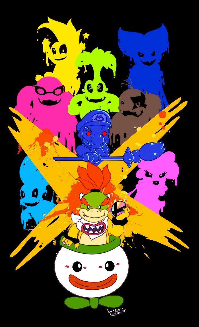 Bowser Jr Final Smash Super Mario Art Super Mario Bros Games Mario Art