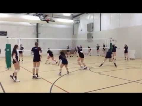 Jva Coach To Coach Video Of The Week Team Ball Control Drill Volleyball Drills Volleyball Workouts Coaching Volleyball