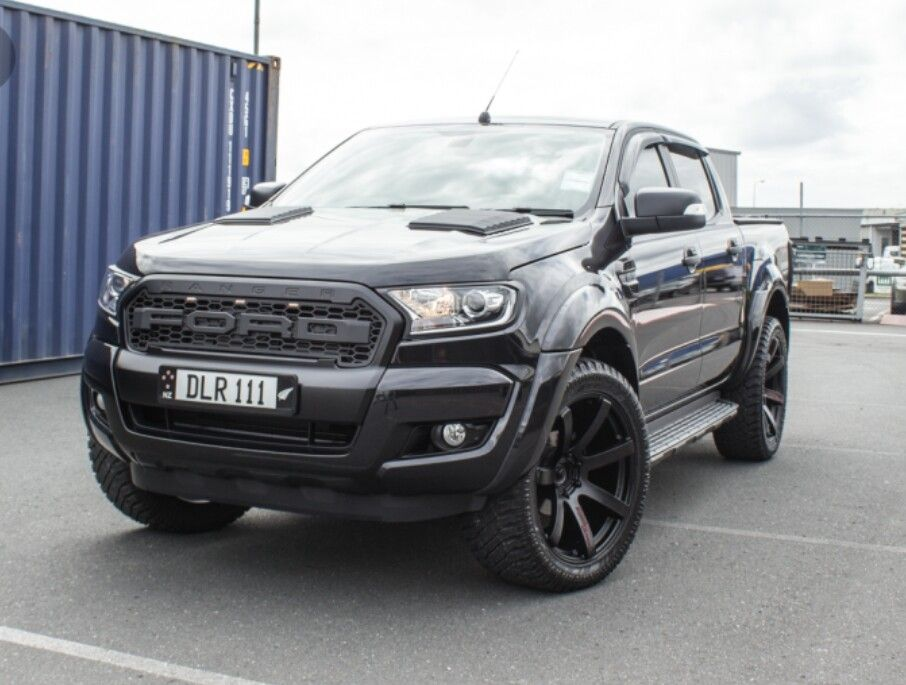 New Ford Ranger With Lenso Wheels Picapes Carros De Luxo Carros