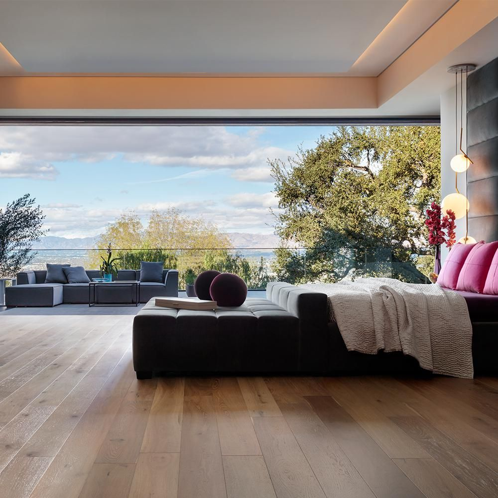 Malibu Wide Plank Take Home Sample French Oak Belmont Click Lock Engineered Hardwood Engineered Hardwood Flooring Wood Floors Wide Plank Engineered Hardwood