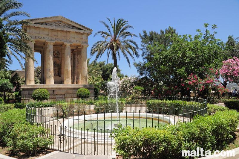 Lower Barrakka Gardens Valletta Malta Valletta Malta Holiday Malta