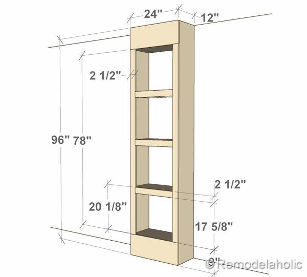 Built In Bookshelves For Your Home Bookshelves Diy Bookshelves Built In Bookcase Plans