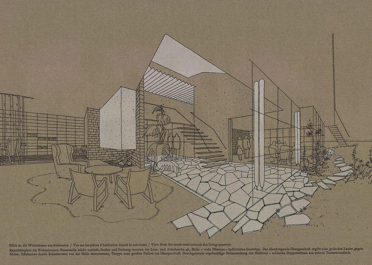 jonasgrossmann:  bauen + wohnen = construction + habitation = building + home / band 1-5 / heft 3 / 1947-49  @ seals