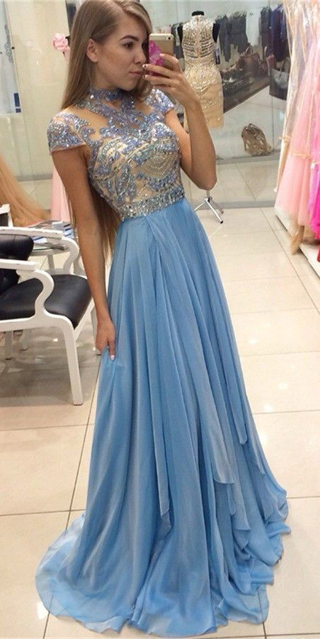 short train prom dresses