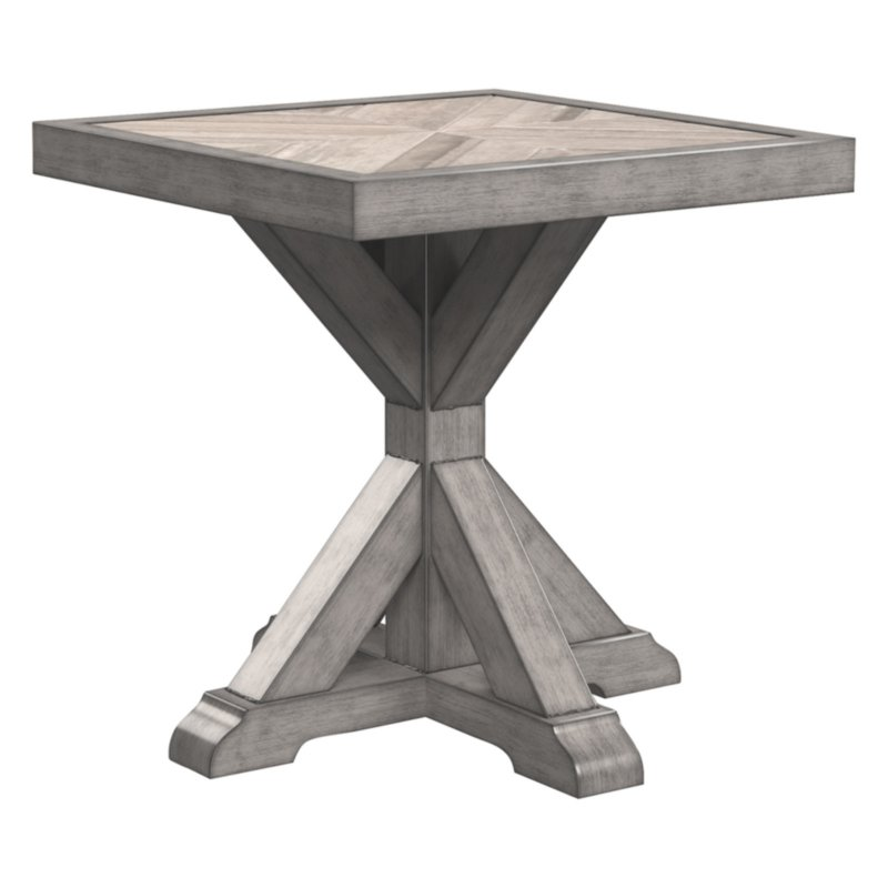 Signature Design By Ashley Beachcroft Square End Table End