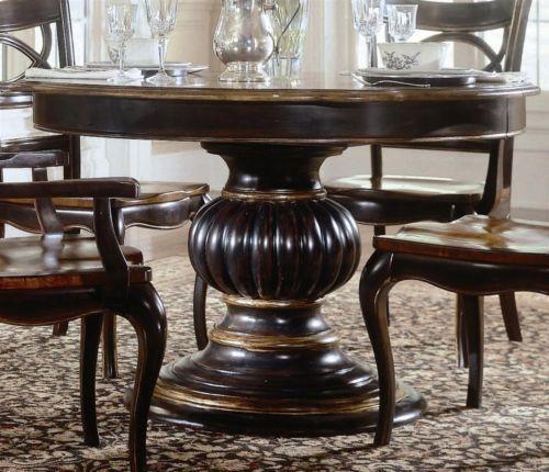 Preston Ridge Round Pedestal Dining Table Id 31053 Ebay