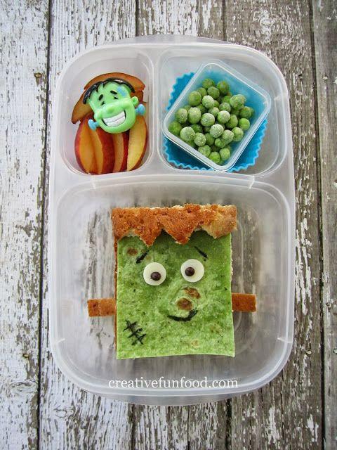 Creative Food: Happy Frankenstein Lunch