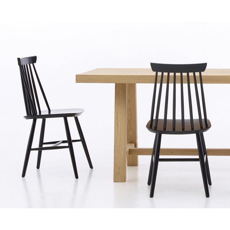 2er Set Stuhl Evelyn black Vinvcent Sheppard | Küchen sofa