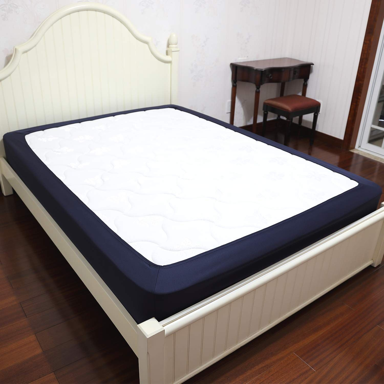 Barossa Design Box Spring Cover Queen Size Wrap Around Elastic Bed