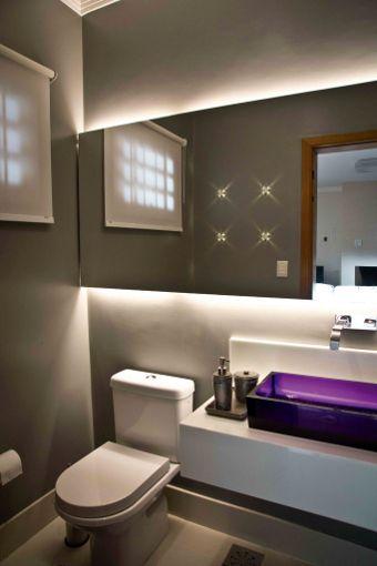 Pequenos ilustres conheça lavabos com projetos marcantes apê - lavabos pequeos