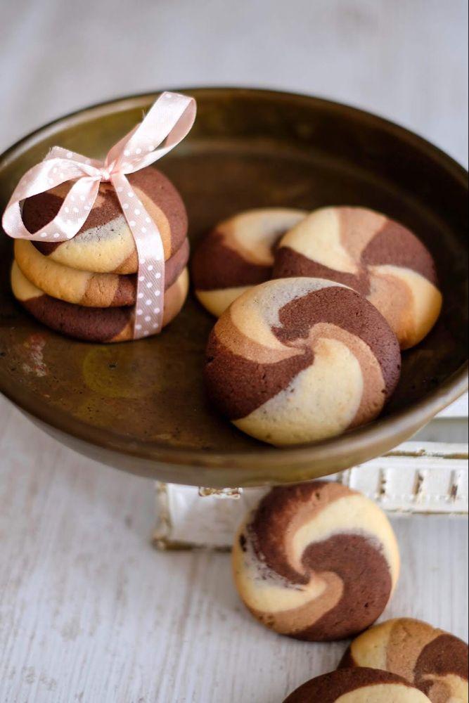 Nutella, Vanille und Schoko Cookies | Marion's Kaffeeklatsch #chocolatecupcakes