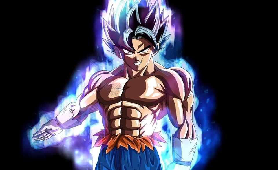 Dibujo De Goku Ultra Instinto: Vegetto Ultra Instinto (Migatte No Gokui)