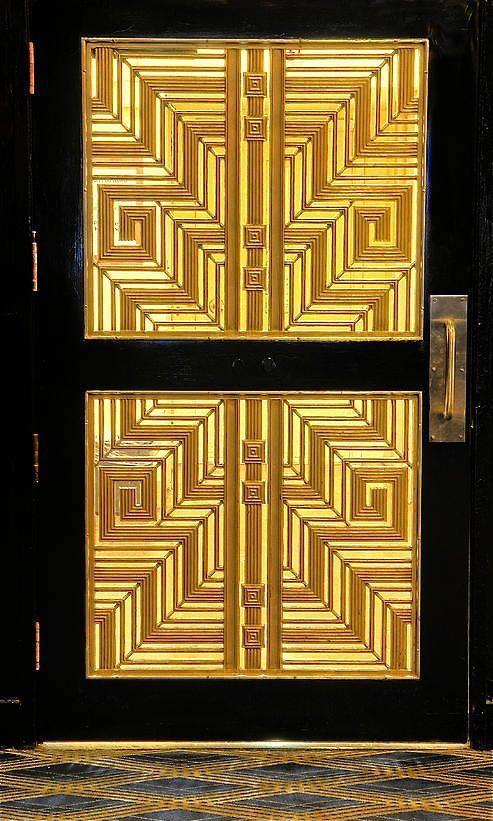 Art Deco Door Designs | beautiful art deco door | art deco ...