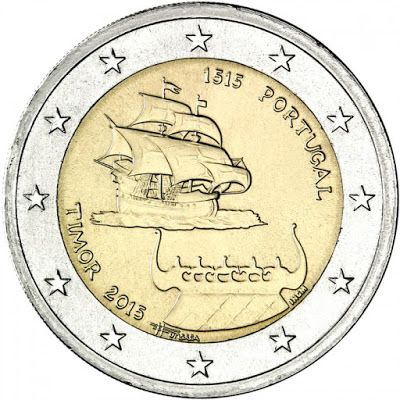 2 euro Portugal 2015 - Portugal 2015 - Timor 2 euro Portugal 2015 Description…