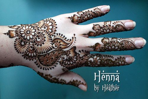 Mehndi For The Inspired Artist : Henna by heather serving boston and providence indo arabic