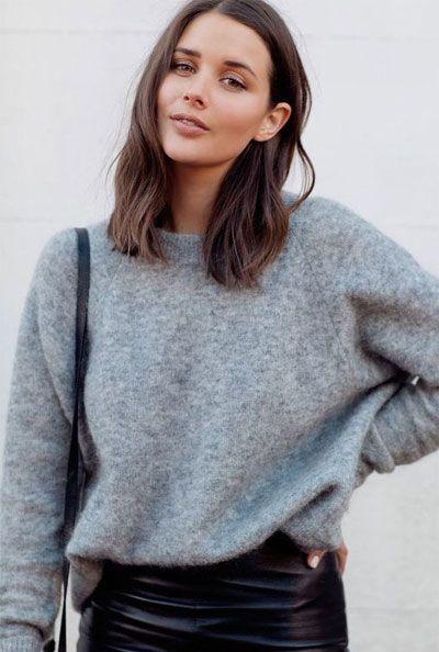 50 beste mittellange Frisuren für dünnes (und extrem feines) Haar #finehair