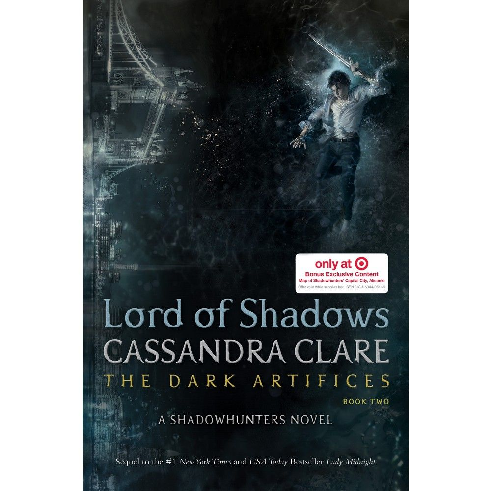 Lord of Shadows Dark Artifices series Book 2 (Hardcover) Target Exclusive By Cassandra Clare 05/23/2017