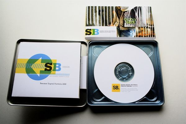 Self Promotion | Packaging are made from metal CD cases from ...