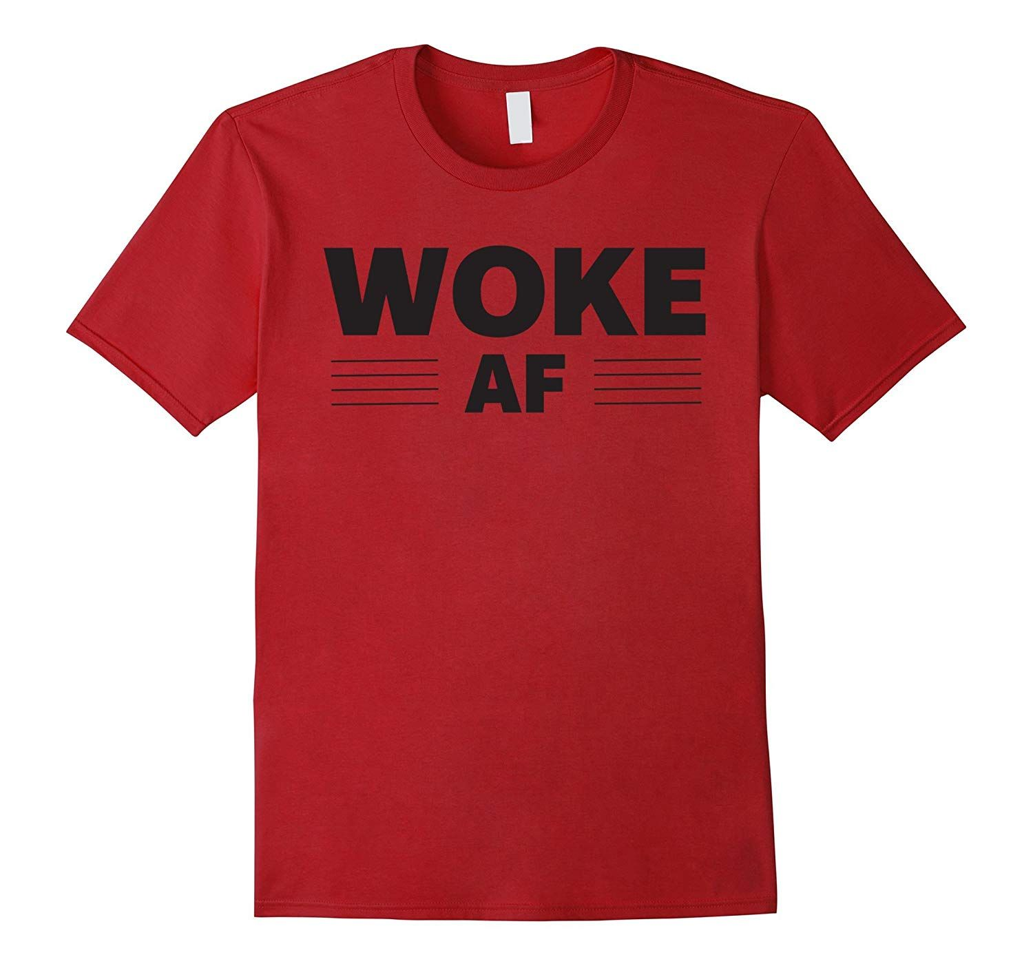 Woke Af T Shirt Products In 2019 Mens Tops Sports Shirts Men