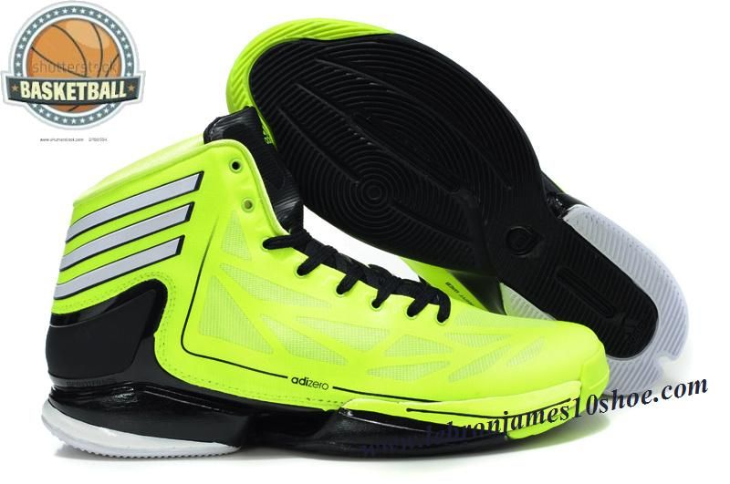 Adidas Adizero Crazy Light 2 Robbie Fuller Shoes Green Black