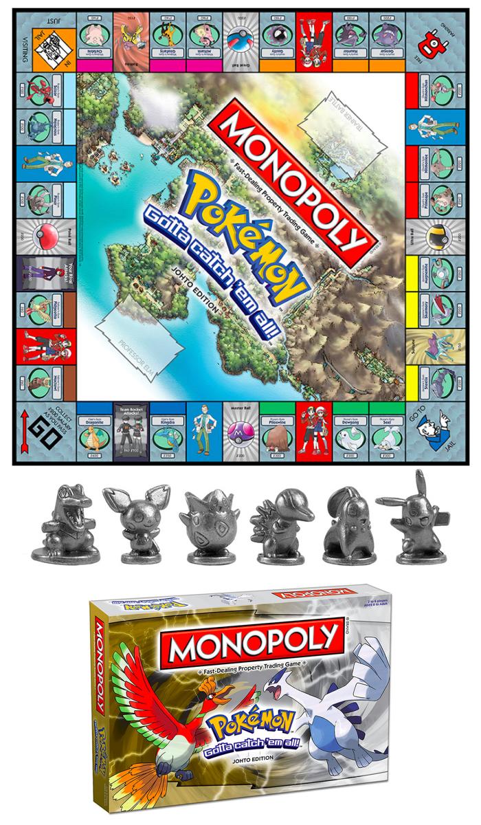 MONOPOLY®: Pokémon™ Johto Edition | Themed - MONOPOLY
