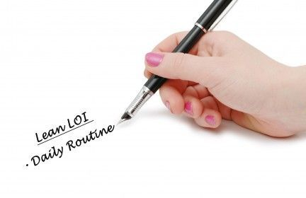 Quick way to begin writing a Letter of Intent