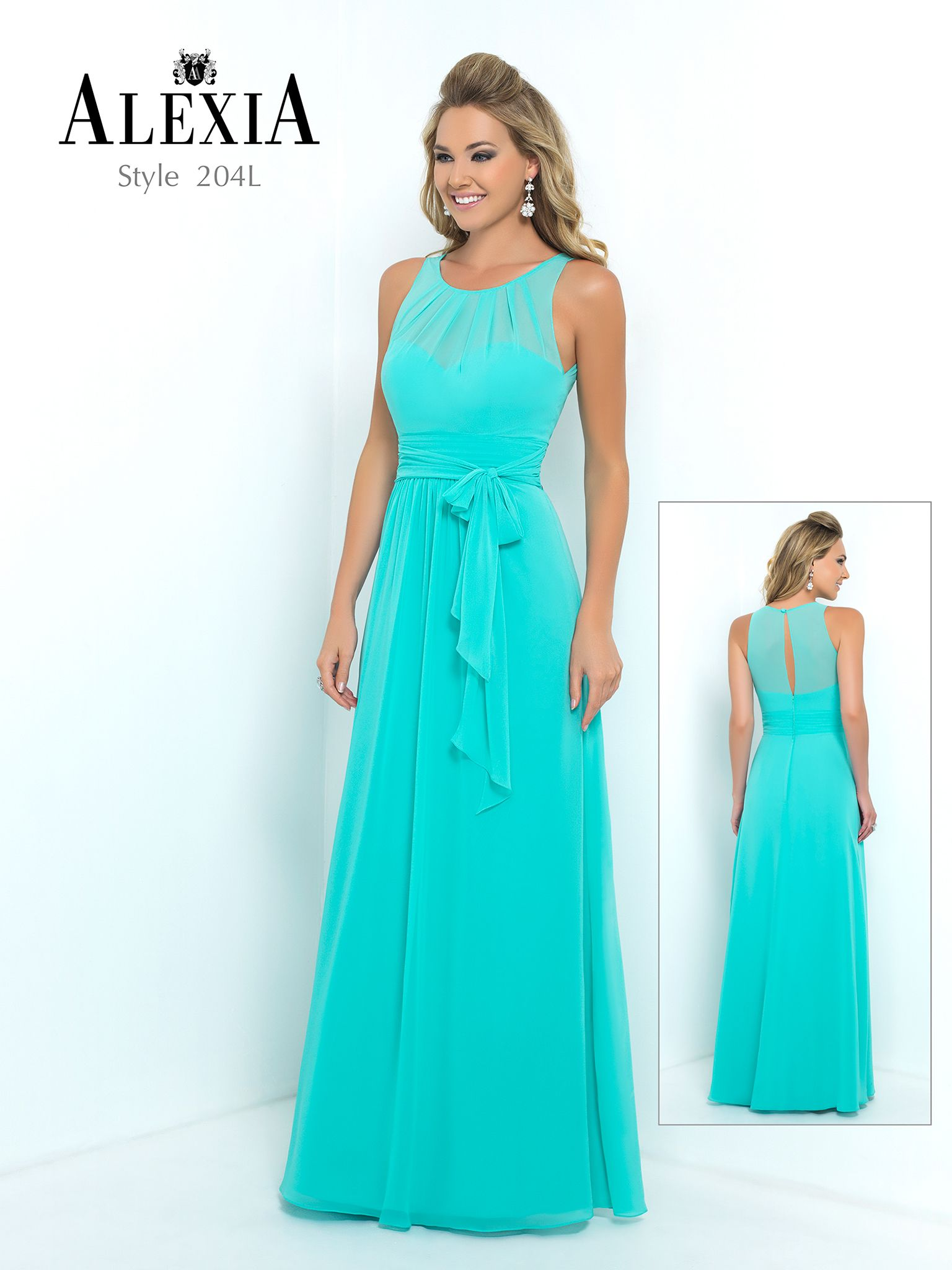 204l from alexia designs bridesmaid bridesmaid dresses alexia designs style long version of bella chiffon bridesmaid dress with pleated waist band tiered bodice detail pleated bodice ombrellifo Choice Image