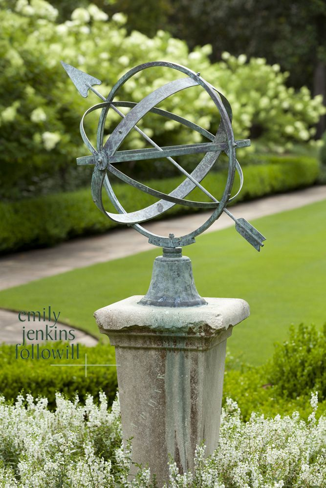 Delicieux Garden With Armillary Sphere | Emily Jenkins Followill Photography    Atlanta Photographer