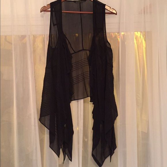 All Saints sheer vest Never worn will fit any size!✨ All Saints Tops