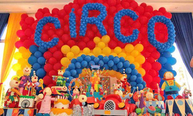 Festa Circo Decoracao Festa Infantil