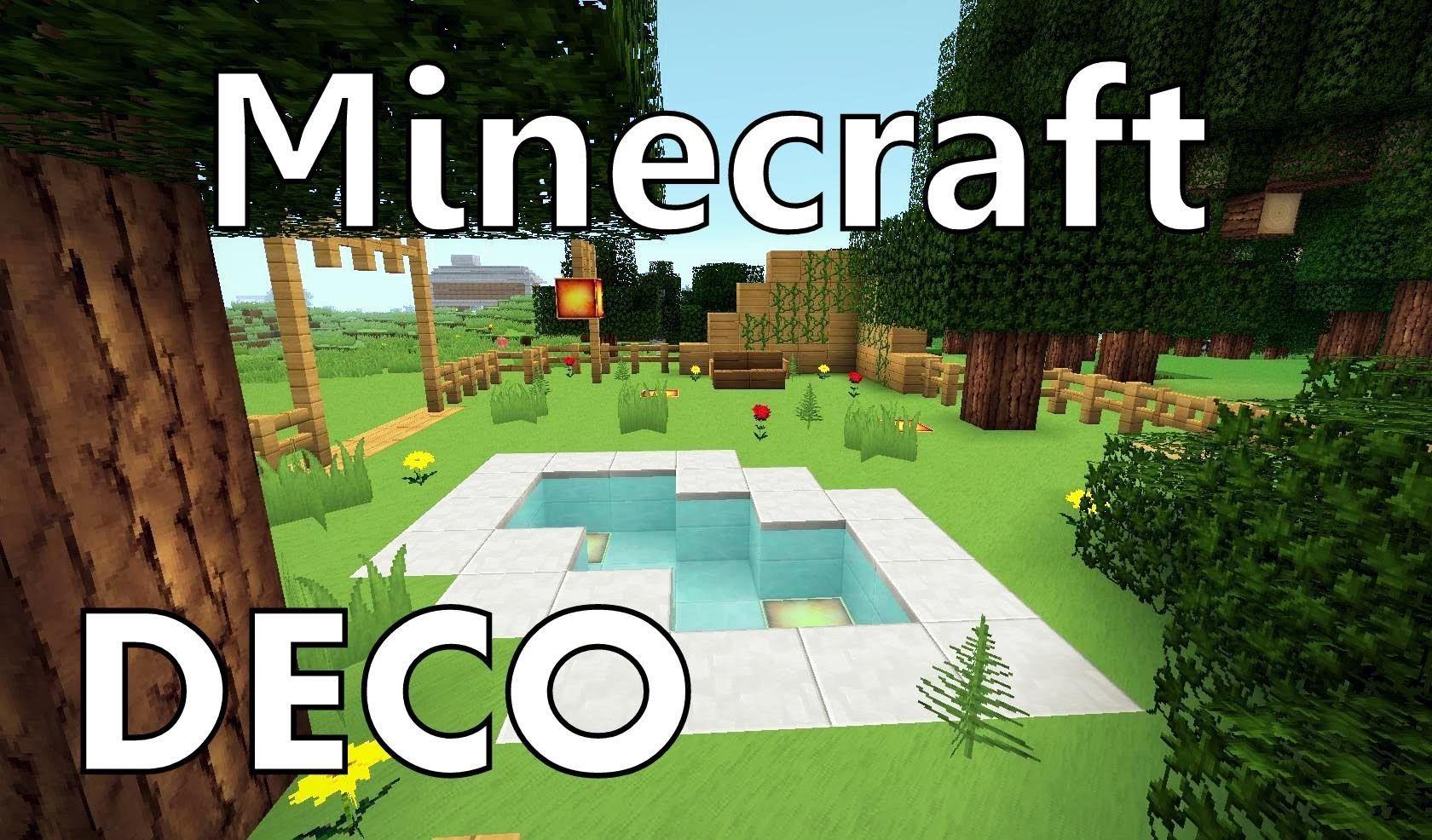Minecraft : Comment Créer un Beau Jardin | Lego | Pinterest