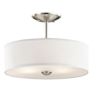 Kichler Shailene 1 Light Semi Flush Mount