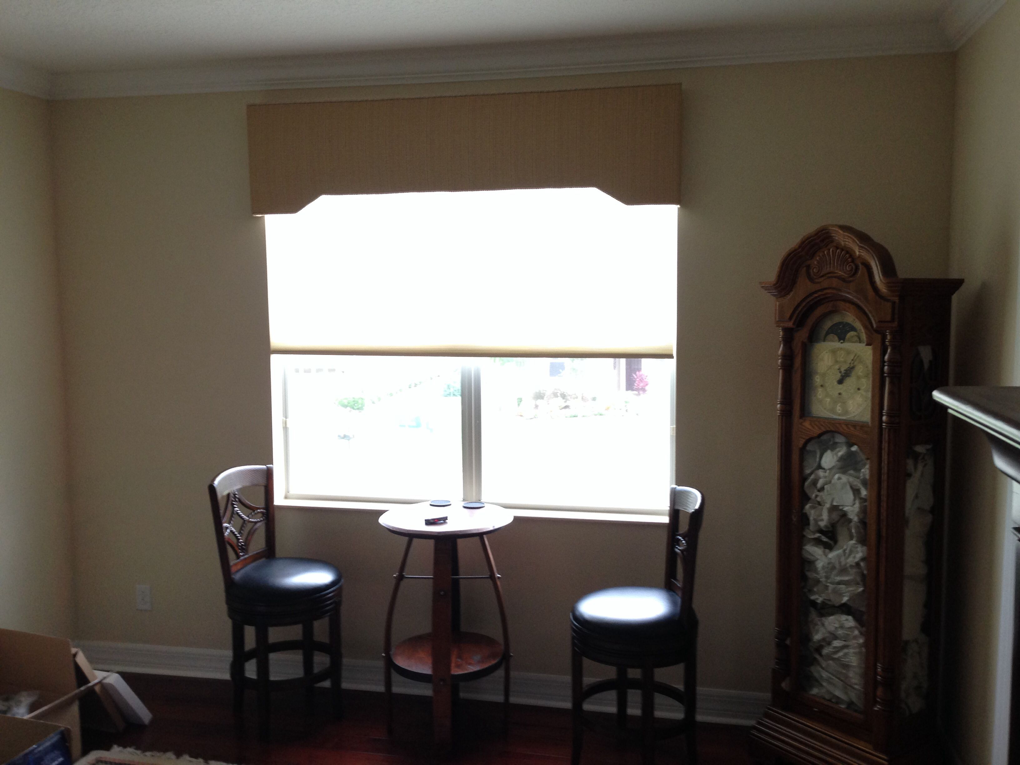 Custom Cornice Boards available at Budget Blinds of Clermont