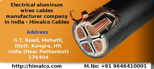 India has many wire cable manufacturer companies. Himalco Cables is ...