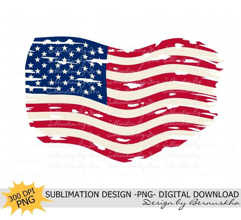 Distressed American Flag Sublimation Png 4th Of July Png Usa Etsy American Flag Sublime Framed Art Prints