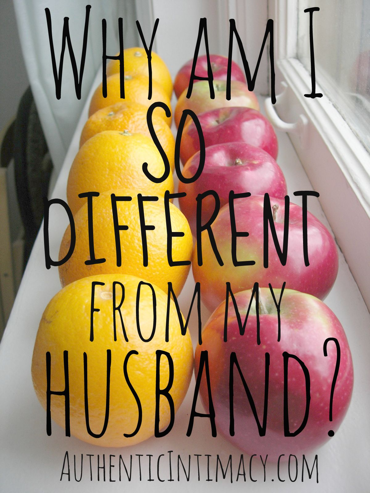 Did God make a mistake? My husband and I are SO DIFFERENT! Read Juli's thoughts on our blog.