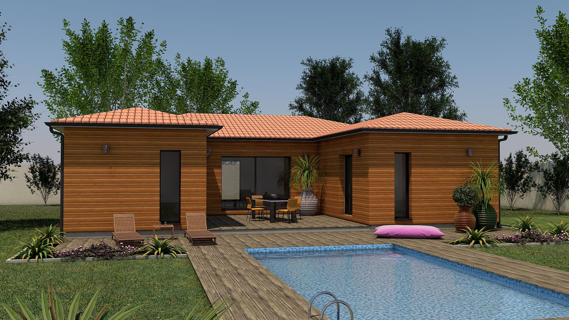 Clairlande Bois : construction maison individuelle / terrain ...