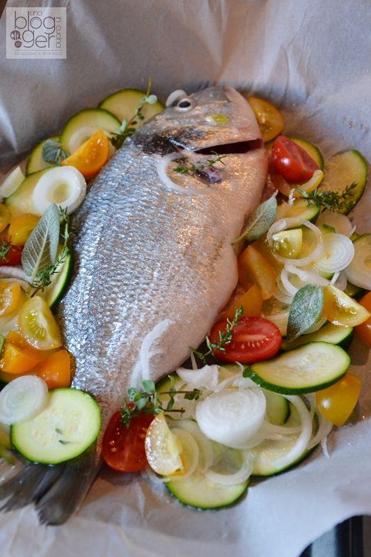 Orata Al Cartoccio Con Verdure Ricetta Leggera кулинария