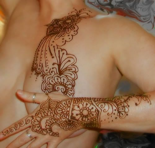 20 Chest Mehndi Tattoos For Women Ideas And Designs