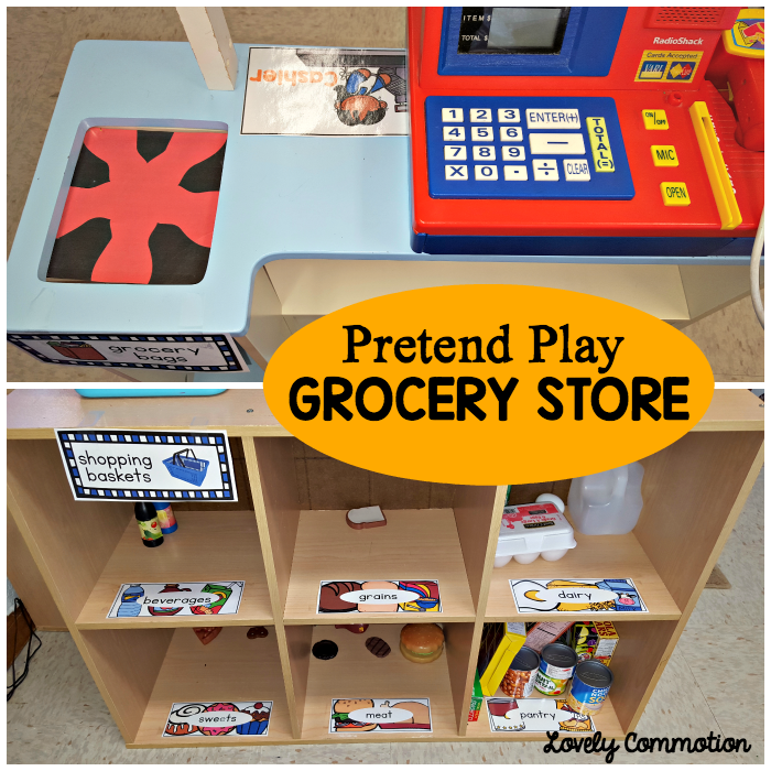 Easily Create A Pretend Grocery Store In Your Classroom