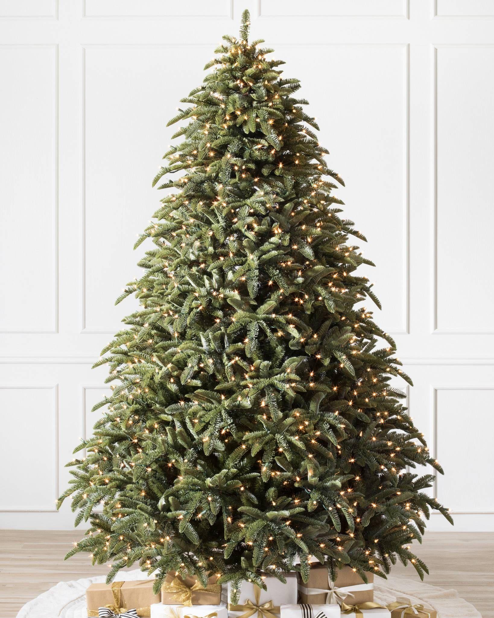 Shasta Fir Artificial Christmas Tree From Balsam Hill Noble Fir