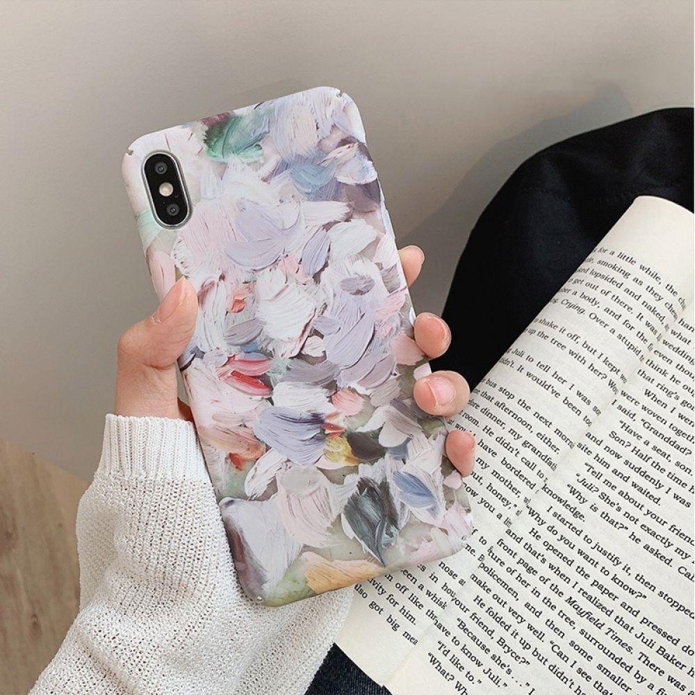 Künstlerische Ölgemälde kritzeln Handyhülle für iPhone   – iPhone Cases