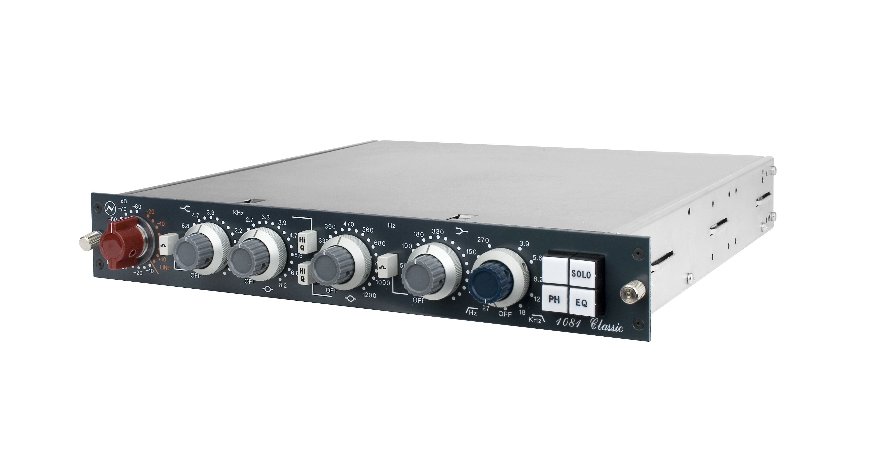 Neve 1081 Classic. A Neve engineered perfect re-issue of the classic transformer balanced mic-pre/EQ, so beloved by the great producers of the 70's. £2,249 (ex VAT)