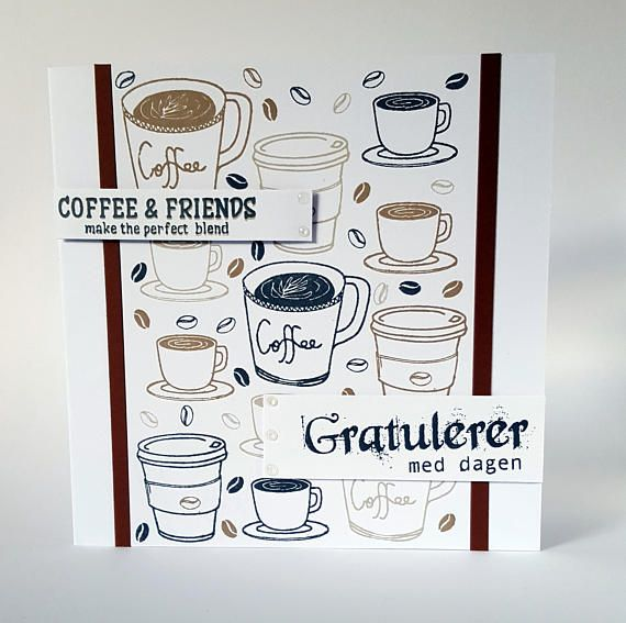 Coffee Lover Card Birthday For Him Husband Father Cards
