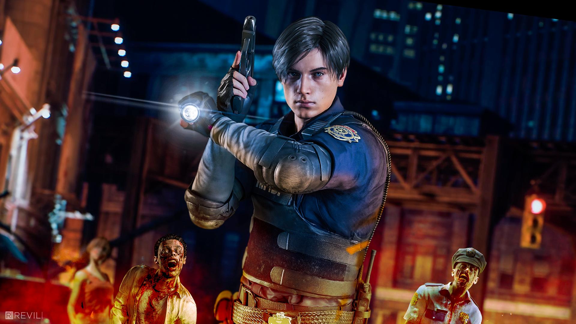 Resident Evil 2 Resident Evil Leon S Kennedy Leon Scott Kennedy