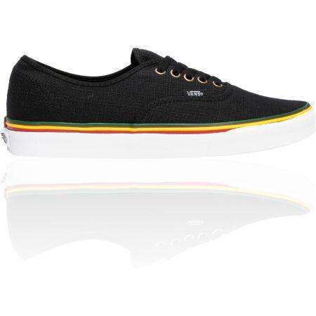 Vans Authentic Irie Hemp Rasta Black Skate Shoes | Vans