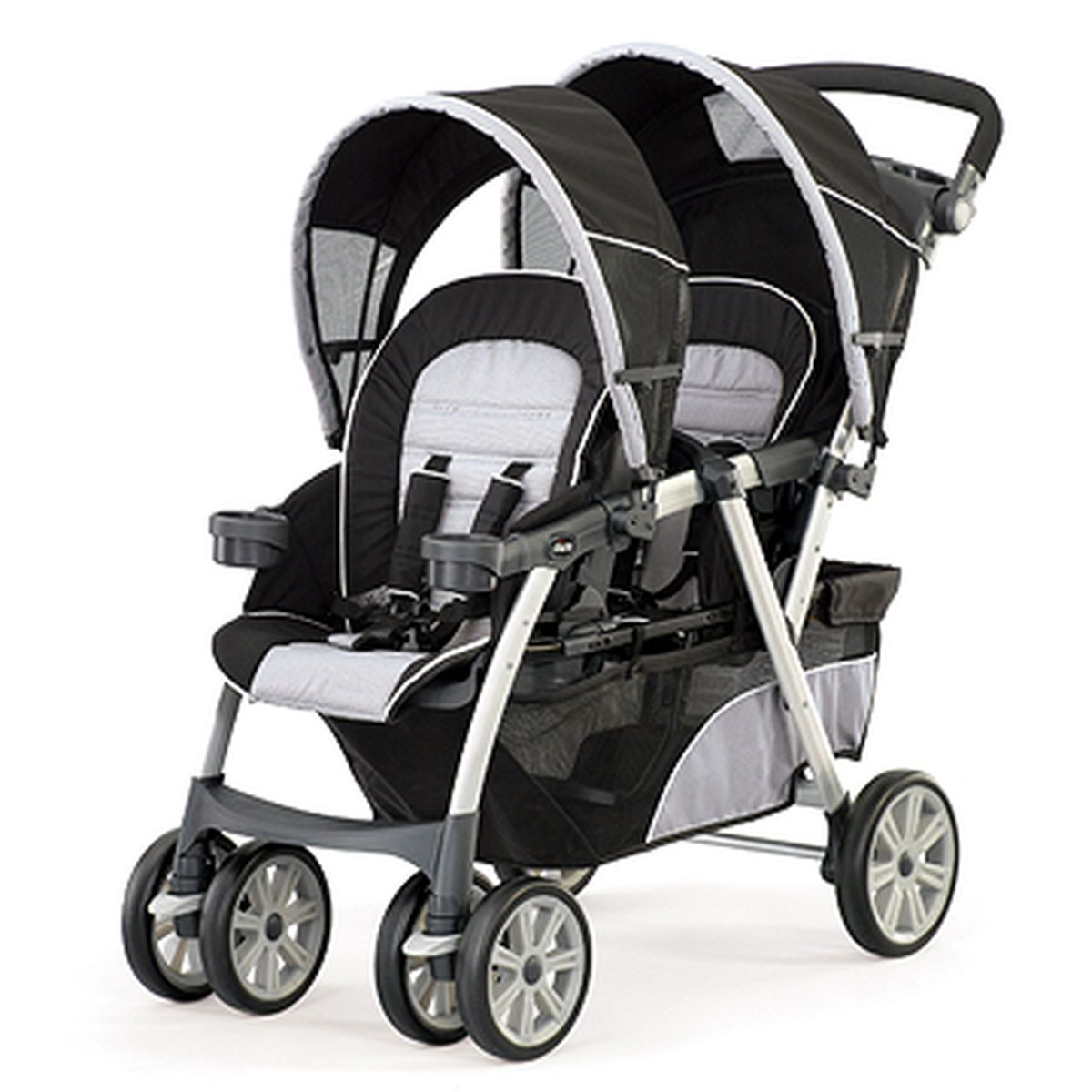 Cortina Together Double Stroller Romantic Double