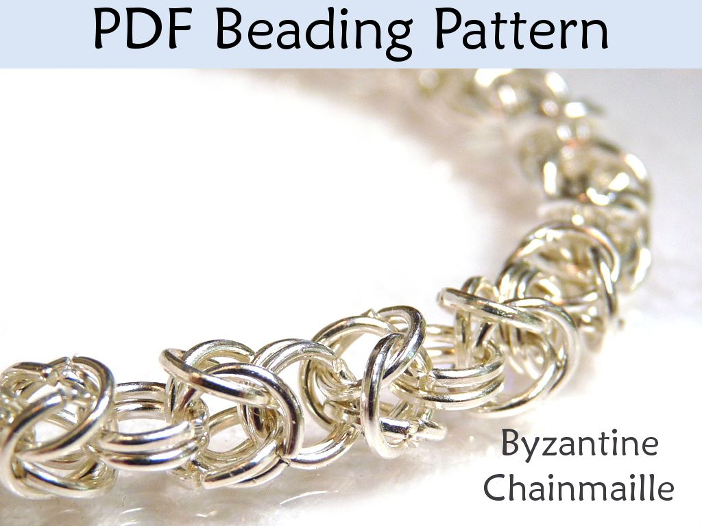 Chainmaille+Patterns+for+Beginners | Comments | Jewelry | Pinterest ...