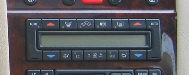 W210 Air Conditioning Diagnosis Conditioner, Air