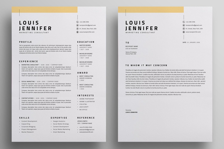 Resume Cv Resume Cover Letter Template Resume Resume Cv